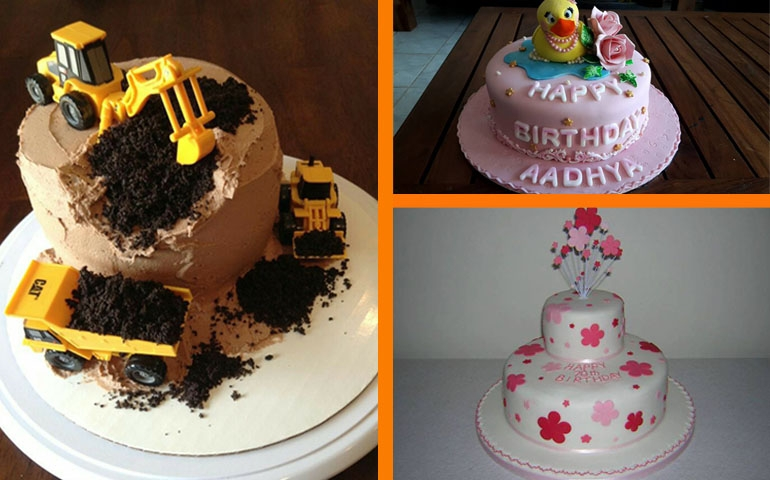 Cakes by Nj's, fancy birthday cakes
